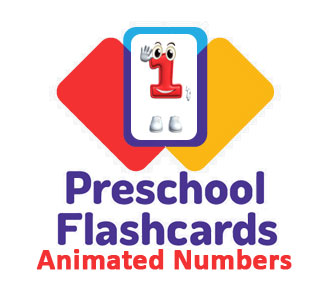 Preschool Flashcards: Animated Numbers