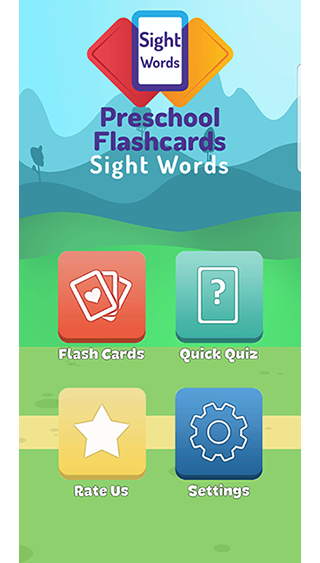 Flashcards: Sight Words